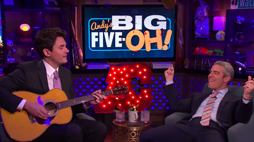 Ryan Seacrest - Andy Cohen Addresses The Rumors That He's Dating John Mayer