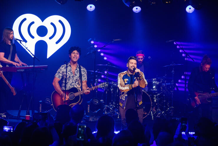 Dan + Shay celebrate new album during iHeartCountry Album Release Party