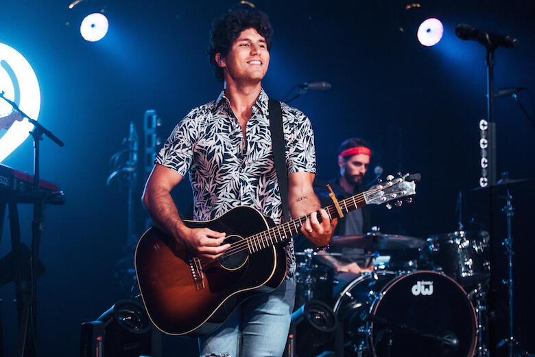 Dan Smyers performs at Album Release Party
