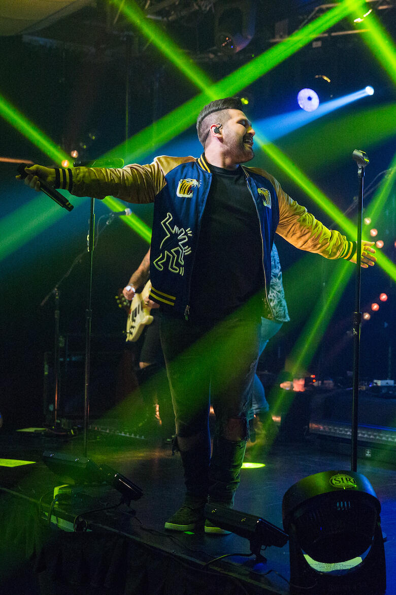 Shay Mooney performs during iHeartCountry Album Release Party