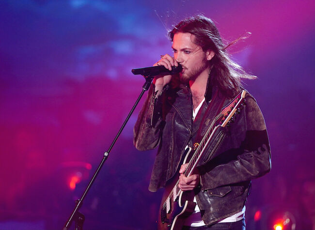 """Jesse Kramer performs on """"The Four"""""""