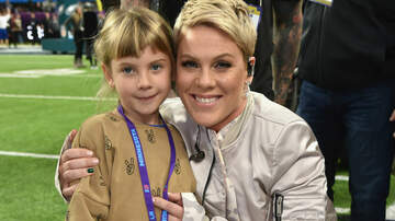 Entertainment News - Pink's Daughter Follows In Her Footsteps With Newly Shaved Head