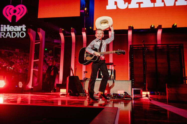 Mason Ramsey performs at the 2018 iHeartRadio Music Festival
