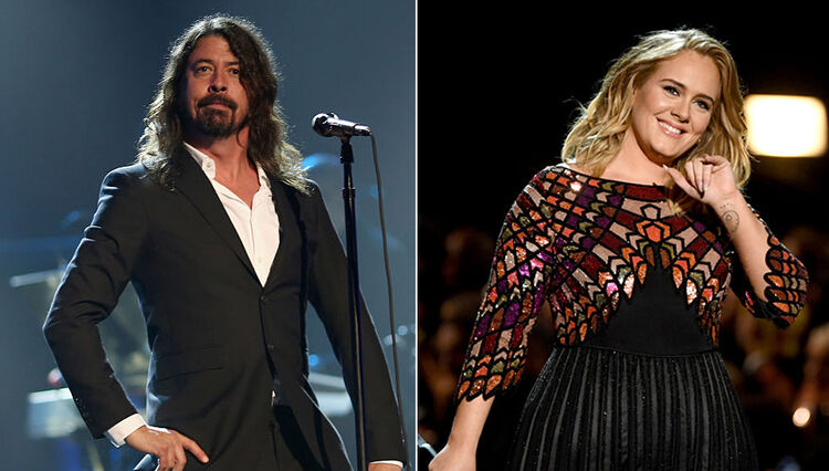 Dave Grohl Wants Adele Collaboration for Next Foo Fighters Album