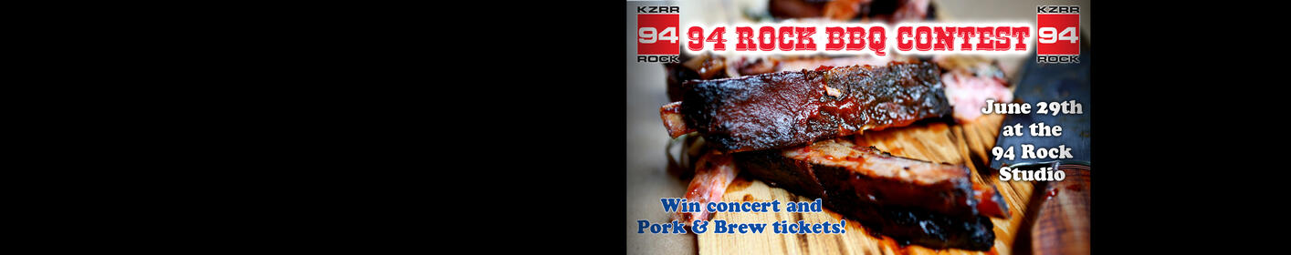 Win Concert Tickets At The 94 Rock BBQ Contest!