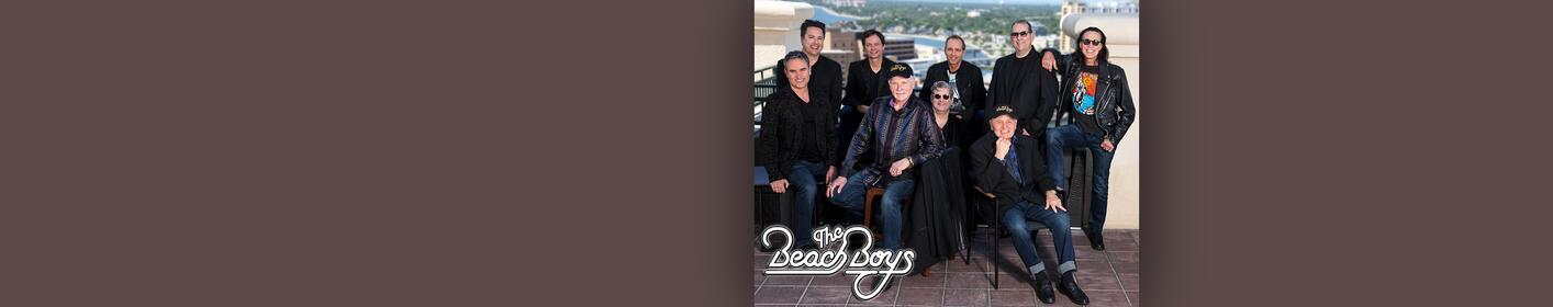 The Beach Boys To Perform At Brandon Amphitheater on Oct. 4, 2018