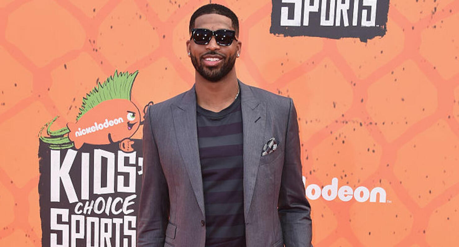 Tristan Thompson Shares First Photos Of His Kids Prince ...