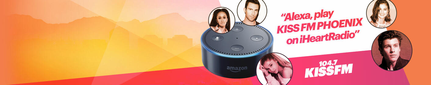 Listen to 104.7 KISS FM on your Amazon Alexa!