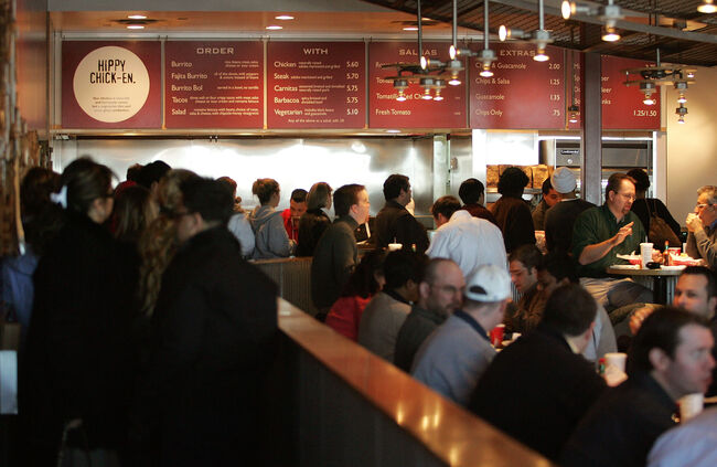 Chipotle \\ Getty Images
