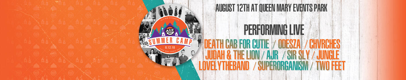Get ALT Summer Camp Tickets Now!
