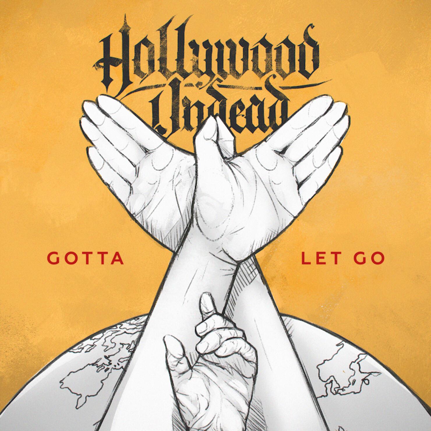 "Hollywood Undead - ""Gotta Let Go"" Single Cover Art"
