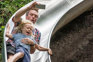 Mom's Scary Photo Shows Why You Should Never Go Down A Slide With A Kid