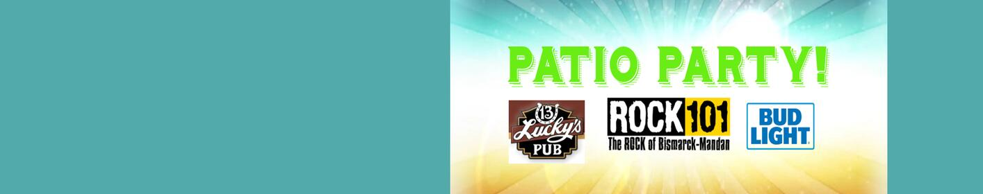 Win a Patio Party for you and 9 of your friends with FREE apps and Bud Light at Lucky's 13 every month this summer!