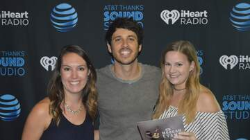 Photos - Morgan Evans Rocks The AT&T THANKS Sound Studio!