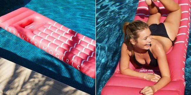 """Bravissimo pool float for """"the girls"""""""