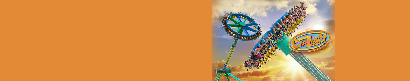 Enter for your chance to win a 4-Pack of tix to Six Flags Magic Mountain & Hurricane Harbor!
