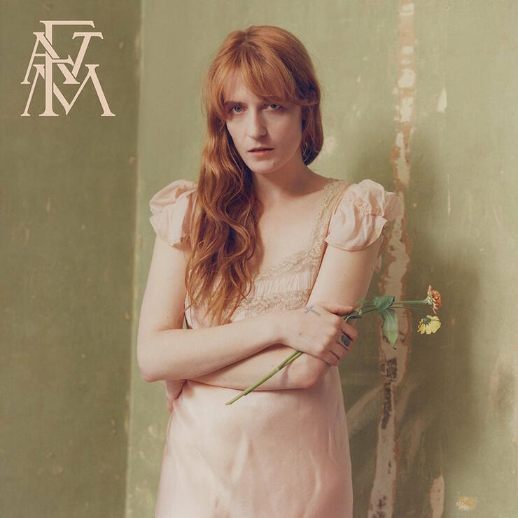 Florence + the Machine - 'High As Hope' Album Cover Art