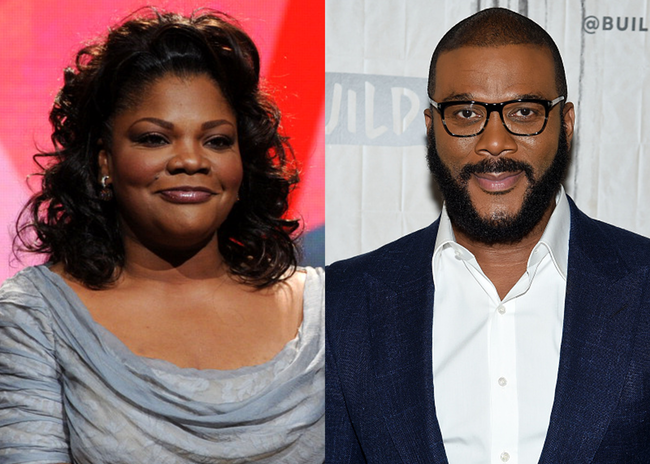 Mo'Nique and Tyler Perry - Getty Images
