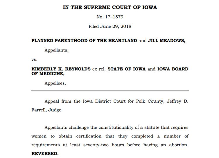 CLICK IMAGE to read entire Iowa Supreme Court decision