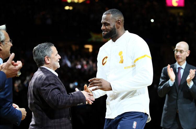 Dan Gilbert, LeBron James