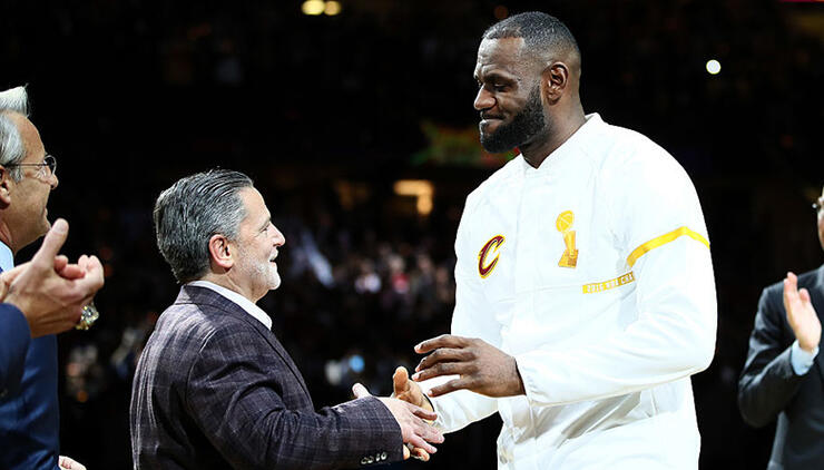 Cavaliers Owner Dan Gilbert Addresses LeBron's Departure in New Letter | iHeartRadio