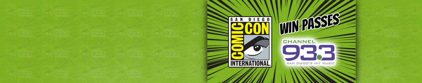 Win COMIC-CON International: San Diego Passes