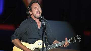 Rock News - Eddie Vedder Is Embarking On A Solo Tour This Year