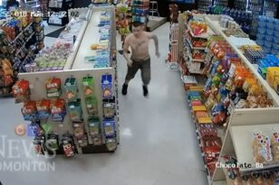 White Trash Couple Falls Through Ceiling and Gets Tazed for Stolen CC