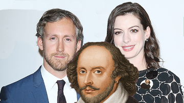 Entertainment News - A Crazy Anne Hathaway-William Shakespeare Theory Has Everyone Shook