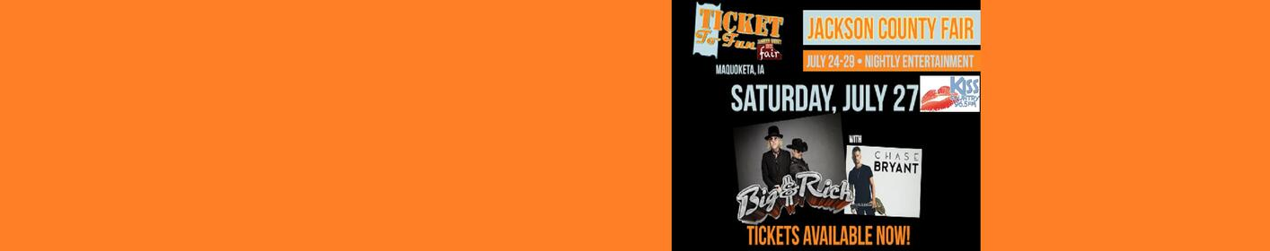 965 Kiss Country Brings You Chase Bryant and Big & Rich in Concert!