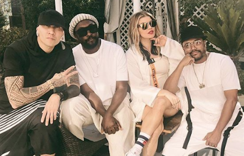 See Fergie's Black Eyed Peas Fourth of July Reunion (PHOTO)
