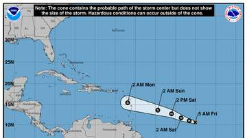 Operation Stormwatch - Beryl Becomes Season's First Hurricane