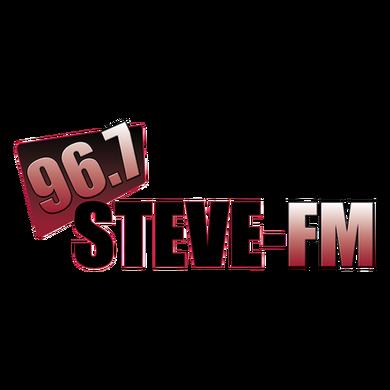 96.7 Steve-FM logo