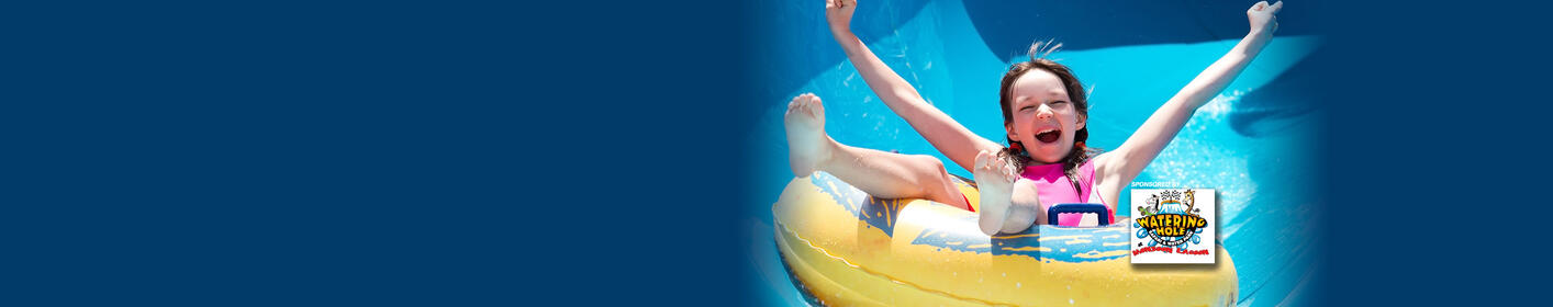 Win a 4 Pack of Mega Passes to Monsoon Lagoon Waterpark