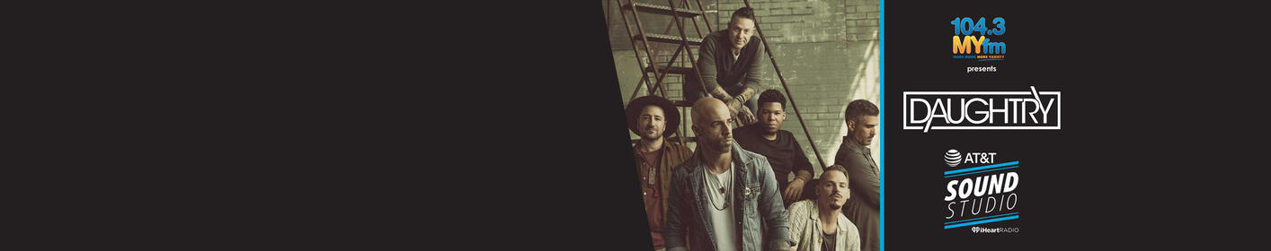 Enter for a chance to see Daughtry Live inside our AT&T Sound Studio!