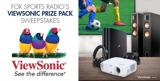 FOX Sports Radio's ViewSonic Prize Pack Sweepstakes