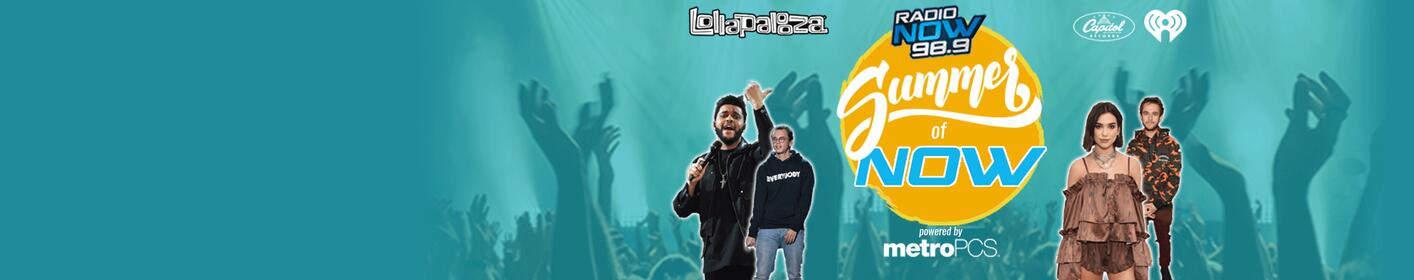 Summer of Now - Win A Trip to Lollapalooza!
