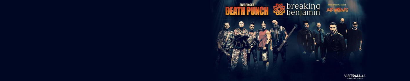 Listen Live With Klinger Next Week For Your Chance To Win Tickets To See Five Finger Death Punch & More!