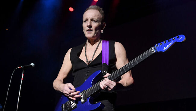 Phil Collen's Wife Nearly Died During Childbirth in May