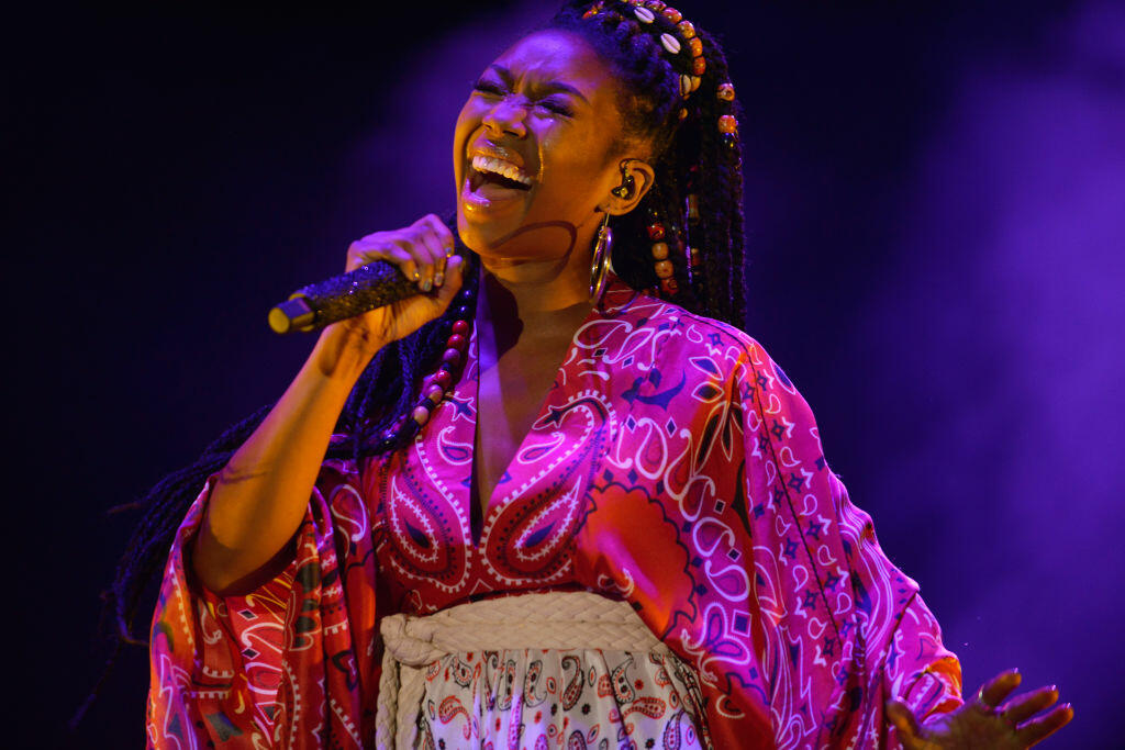 Brandy Reminds Fans 'The Boy Is Mine' Is Her Song During Essence Fest Set