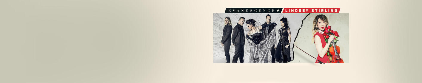 Catch Evanescence and Lindsey Stirling in CLT on July 20th!