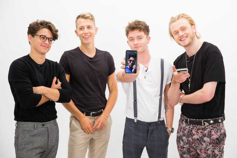The Vamps Go Through Their Personal Camera Rolls (VIDEO