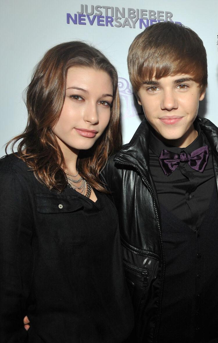 Hailey Baldwin, Justin Bieber - 2011