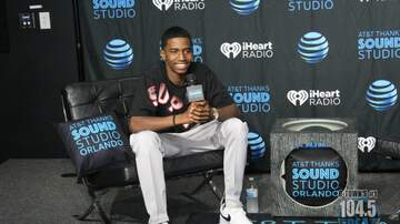 Photos - King Combs at the AT&T Thanks Sound Studio