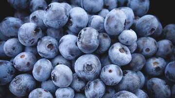 George Fuller - A SNACK OF HEALTHY BLUEBERRIES