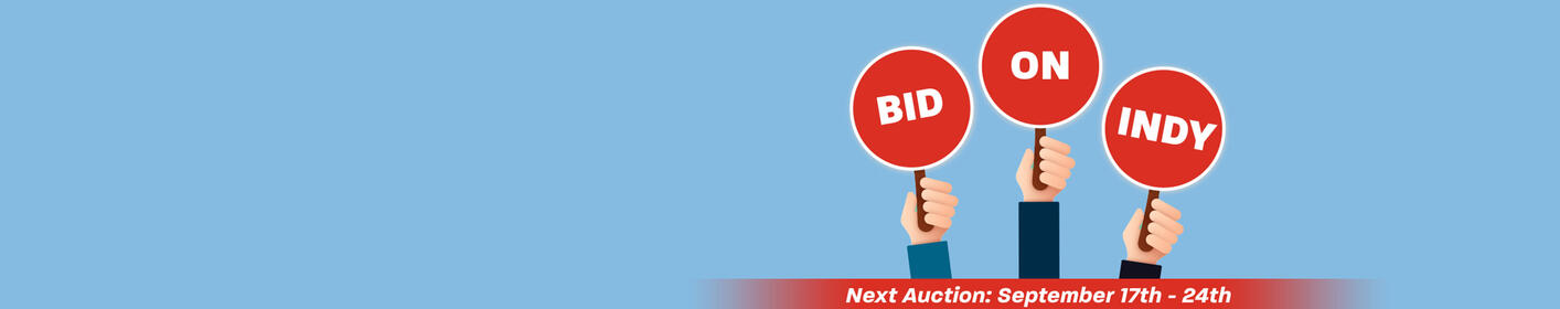 BidOnIndy.com - Sign Up For Auction Updates!