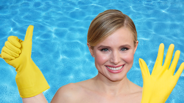 Weird, Odd and Bizarre News - Kristen Bell Refuses To Get In Pools Without Gloves On