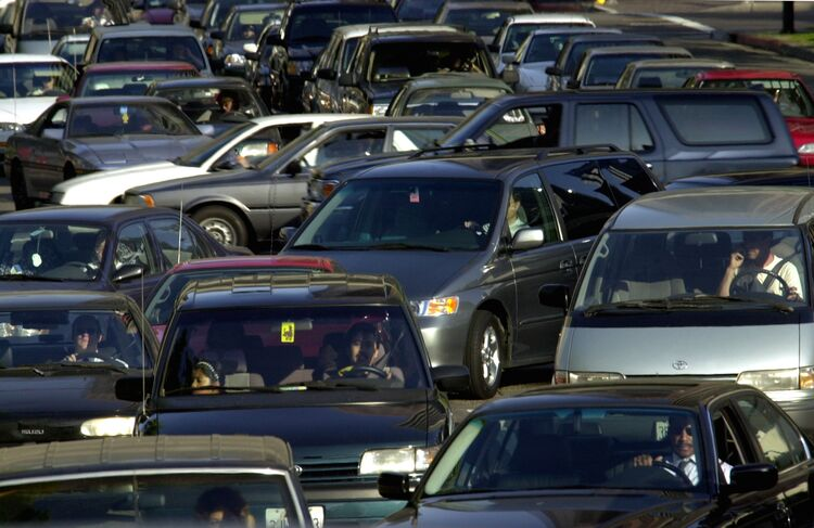 los angeles ranks as one of the worst cities to drive in