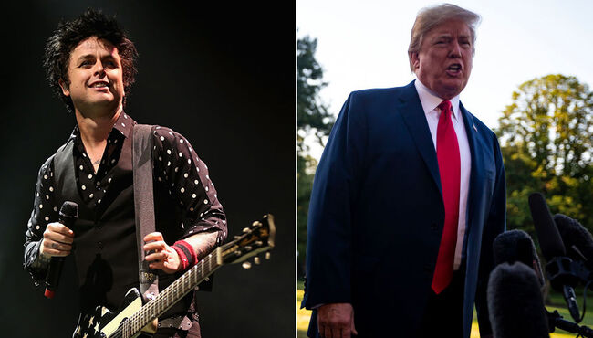 Green Day's 'American Idiot' Shoots Up U.K. Charts as Donald Trump Visits