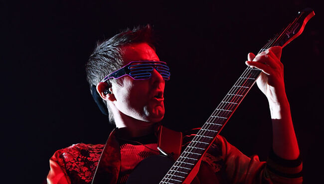 "Watch Muse's Crushing ""Psycho"" Performance From Upcoming Concert Film"